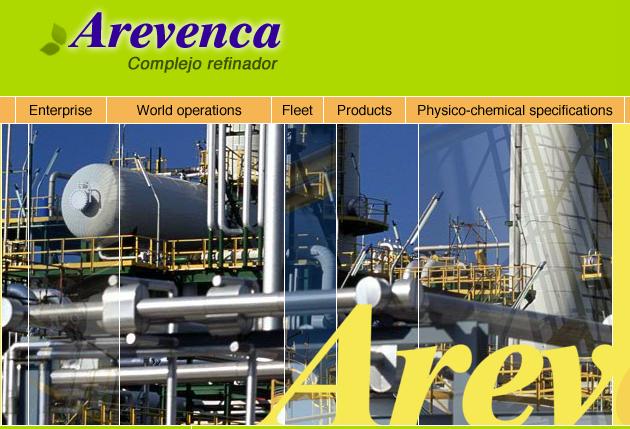 El portal electrónico presentaba a Arevenca como una firma energética de clase mundial, cuando en realidad era una empresa con proyectos que no existían en la realidad